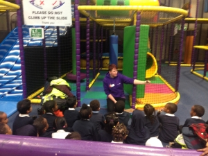 Year 1 visit Playspace