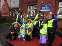 Hannah More Primary School take part in the 'Great Bristol Spring Clean Up'