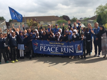 Peace Run comes to Hannah More