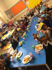 Year 1 had lots of fun with their end of year class party
