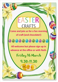 Easter Crafts for Parents