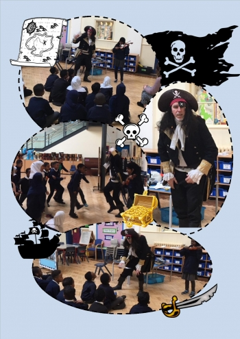 Ships Ahoy for Year 4 yesterday!