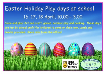 Easter holiday Playdays!