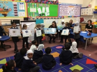 On Wednesday 24th January we took part in an Energy Saving Workshop. This was run by Mitsubishi and JCW Energy Services.  We enjoyed finding out about different ways we could save energy at home and at school.