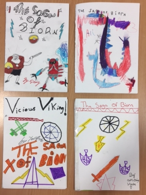 Check out our innovated Saga stories in Owl class!
