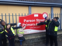 Green Team Visit Parson Street Primary School......