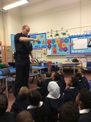 Police Officers Visit Year 1